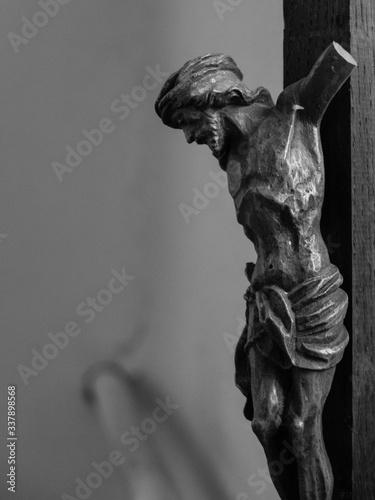 Obraz na płótnie Close-up Of Crucifix