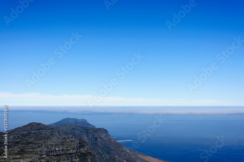 Fototapeta Scenic View Of Sea Against Blue Sky obraz na płótnie