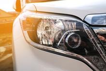 Luxury Car Front Head Lamp With Sun Light