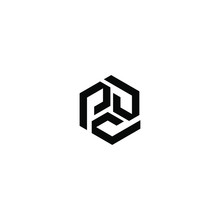 Initial Letter P Logo Vector Design Template