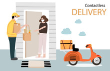Online Delivery Contactless Se...