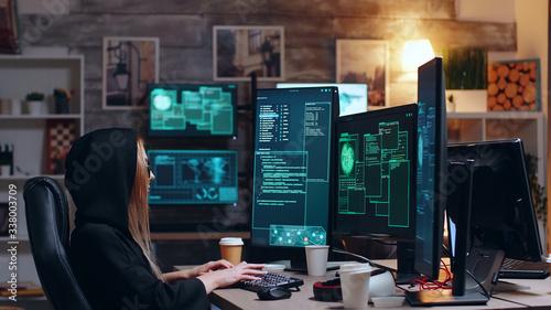 Cuadros en Lienzo International female hacker wanted for cyber crimes