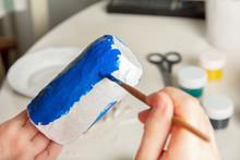 Coloring Papier Mache