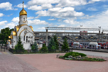 Chelyabinsk, The Church Of The...