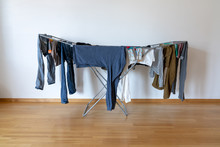 Indoor Balcony Folding Clothes...