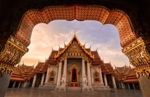Temple Building Against Sky