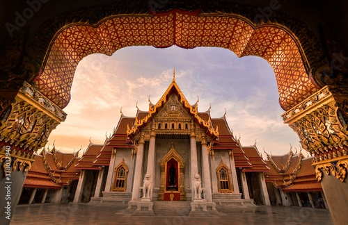 Fototapeta Temple Building Against Sky obraz