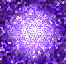 Purple And Blue Background With Stained Glass Effect