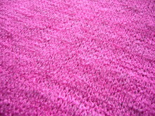 Pink Knitted Fabric. The Text...