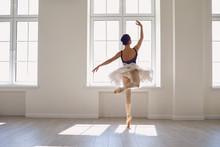 Ballerina. Young Graceful Ball...