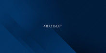 Modern Blue Navy Line Triangle Background For Presentation. Vector Illustration Design For Presentation, Banner, Cover, Web, Flyer, Card, Poster, Wallpaper, Texture, Slide, Magazine, And Powerpoint.