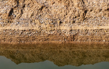 Layers Of Shingle And Silt At ...