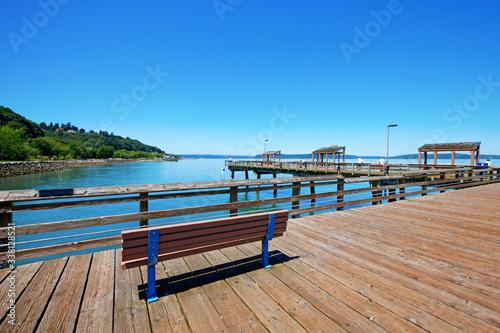 Valokuva Tacoma, pier view. WA
