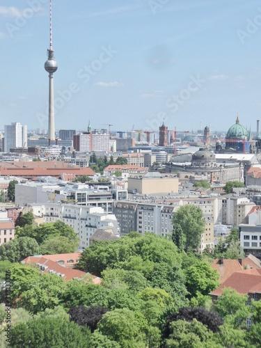 Fototapeta High Angle View Of Buildings In City obraz na płótnie