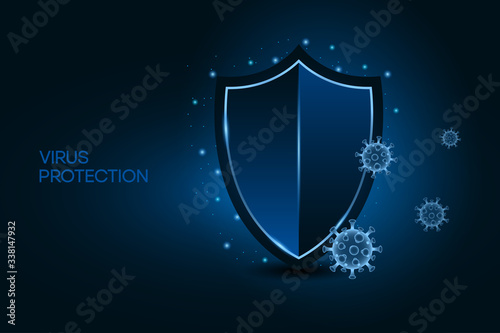 Fotomural Security shield for virus protection
