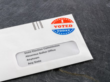 Envelope Containing Voting Bal...