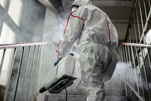 Professional Disinfector In An...