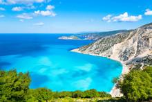 Beautiful Landscape Of Myrtos ...