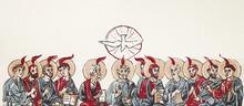 Pentecost. Christian Banner