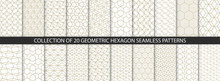 Collection Of Hexagonal Patter...
