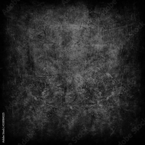 dark concrete wall. decent background texture. Wall mural