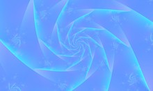 Fractal Pattern Luminous Rotat...