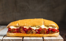 Meatball Sub With Steam