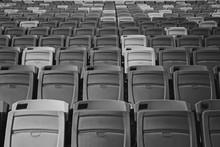 Full Frame Shot Of Empty Seats...