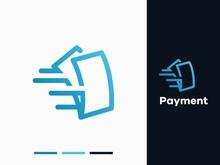 Modern Payment Logo Design Template Vector