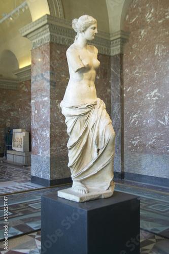 Statue of Venus de Milo (Aphrodite), Greece, ca Canvas Print