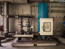 Water Pump Booster System Panel For Piping