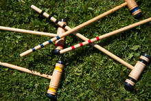 Croquet Lawn Game Outdoor