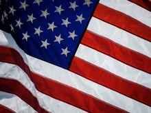 Full Frame Shot Of American Flag
