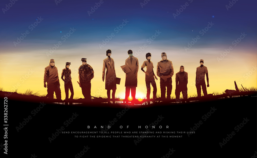 Fototapeta Band of Honor