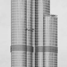 Burj Khalifa Against Clear Sky