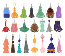 Tassel Fringe Vector Cartoon S...