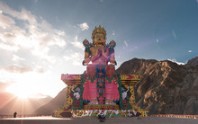 Buddha- Diskit Monastery