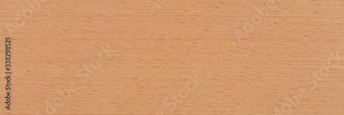 Obraz na plátně Natural beech veneer background in warm beige color