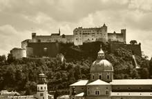 View Of Salzburg. Austria