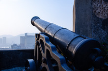 Old Cannon In The Fortress