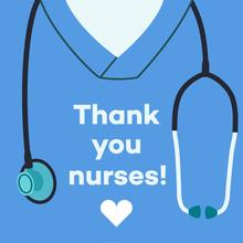 Thank You Nurses - Concept Ill...