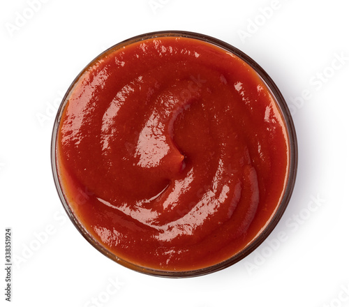 Fotografie, Tablou Bowl with ketchup