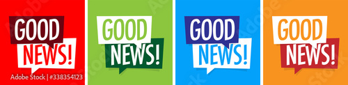 Obraz Good news ! - fototapety do salonu