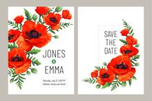 Wedding Invitation Card. Frame...