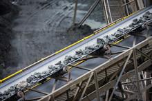Belt Conveyor Stones - Mining Industry