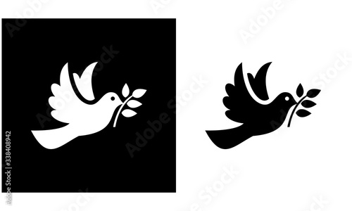 Photo Birds icon set, animal vector