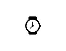 Wristwatch Vector Flat Icon. I...