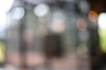 Defocused Image Of Blurred Lights