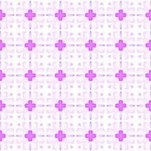 Mosaic Seamless Pattern. Purple Bold Boho Chic