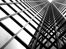 Low Angle View Of Metal Grate ...